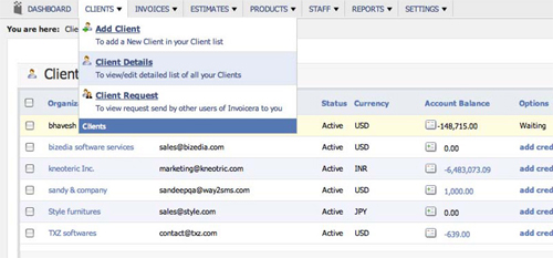 Invoicera-clients